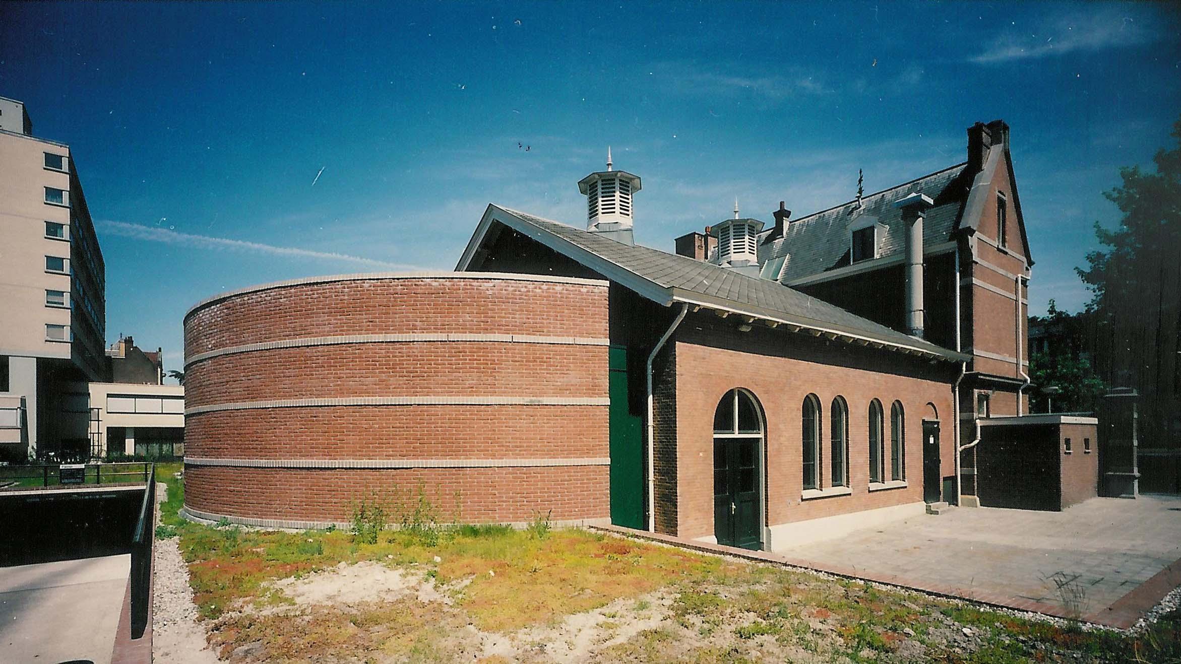 1995 RESTAURATIE MONUMENT rioolgemaal Westersingel ROTTERDAM ARCHITECT MARJA HARING