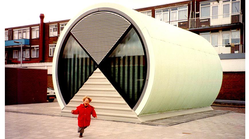 1996 gemaal Burgerhof Pernis ARCHITECT Marja Haring