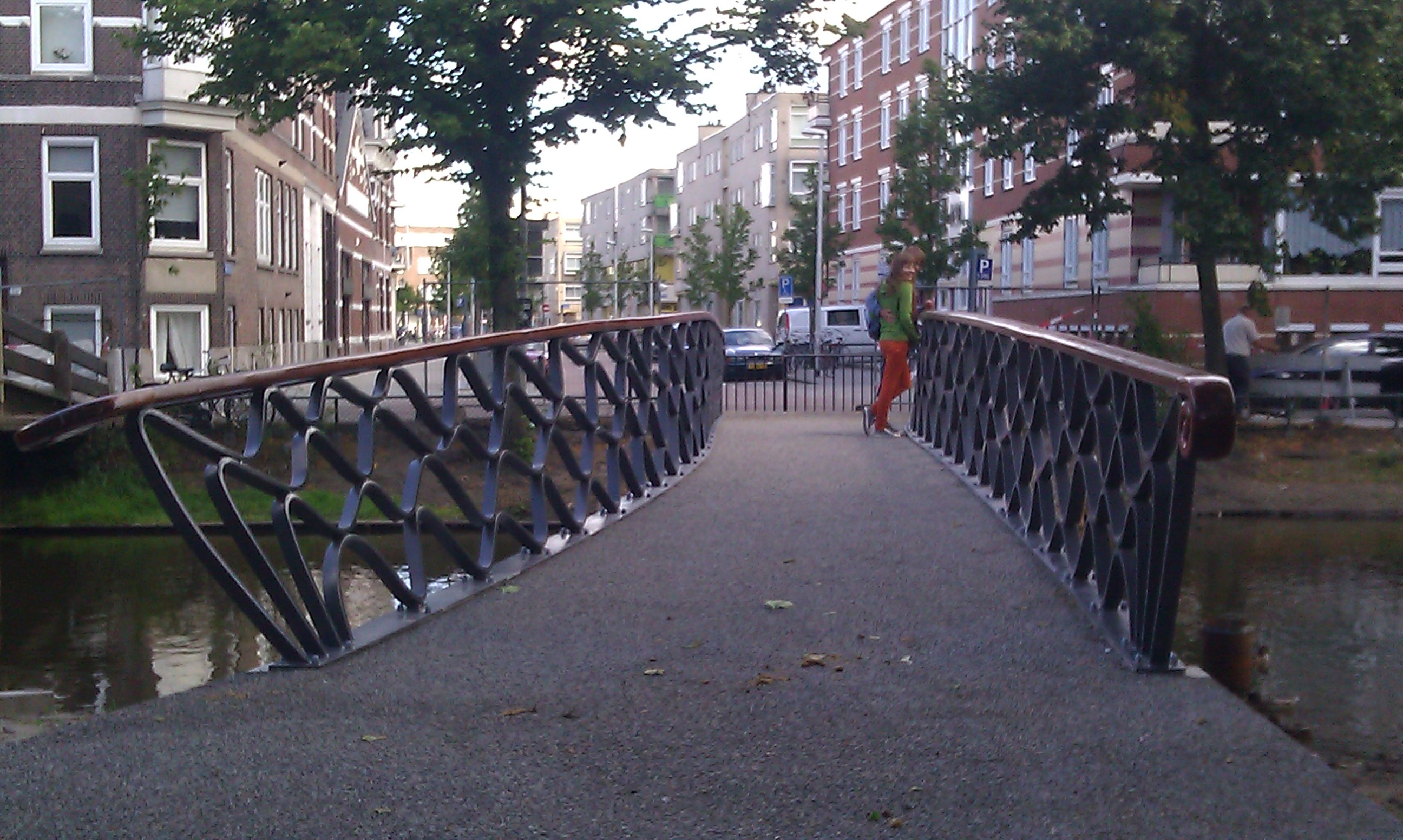 Hoevebrug Spoorsingel Rotterdam architect Marja Haring