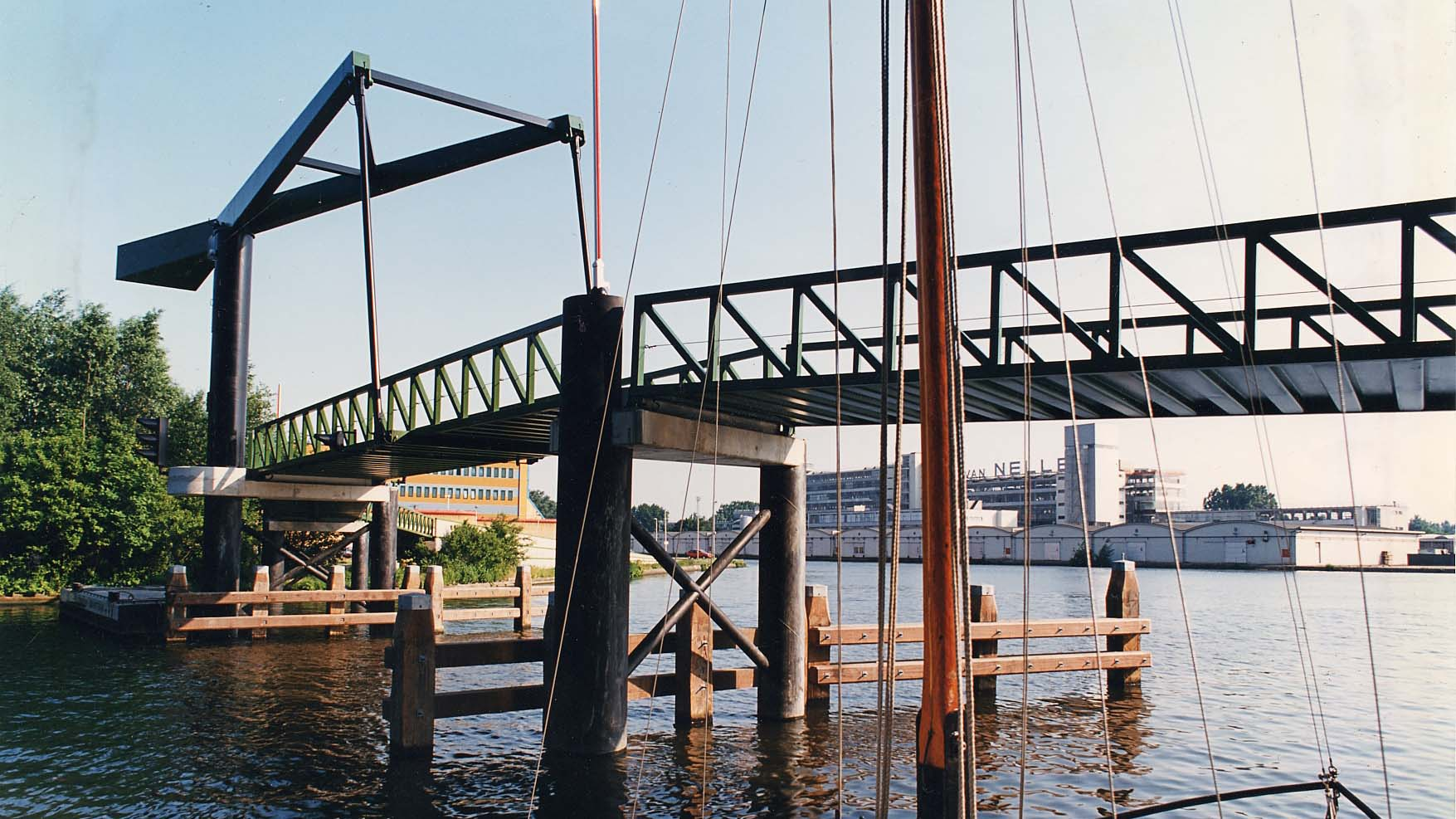 Jonkersbrug Schie Rotterdam ARCHITECT MARJA HARING
