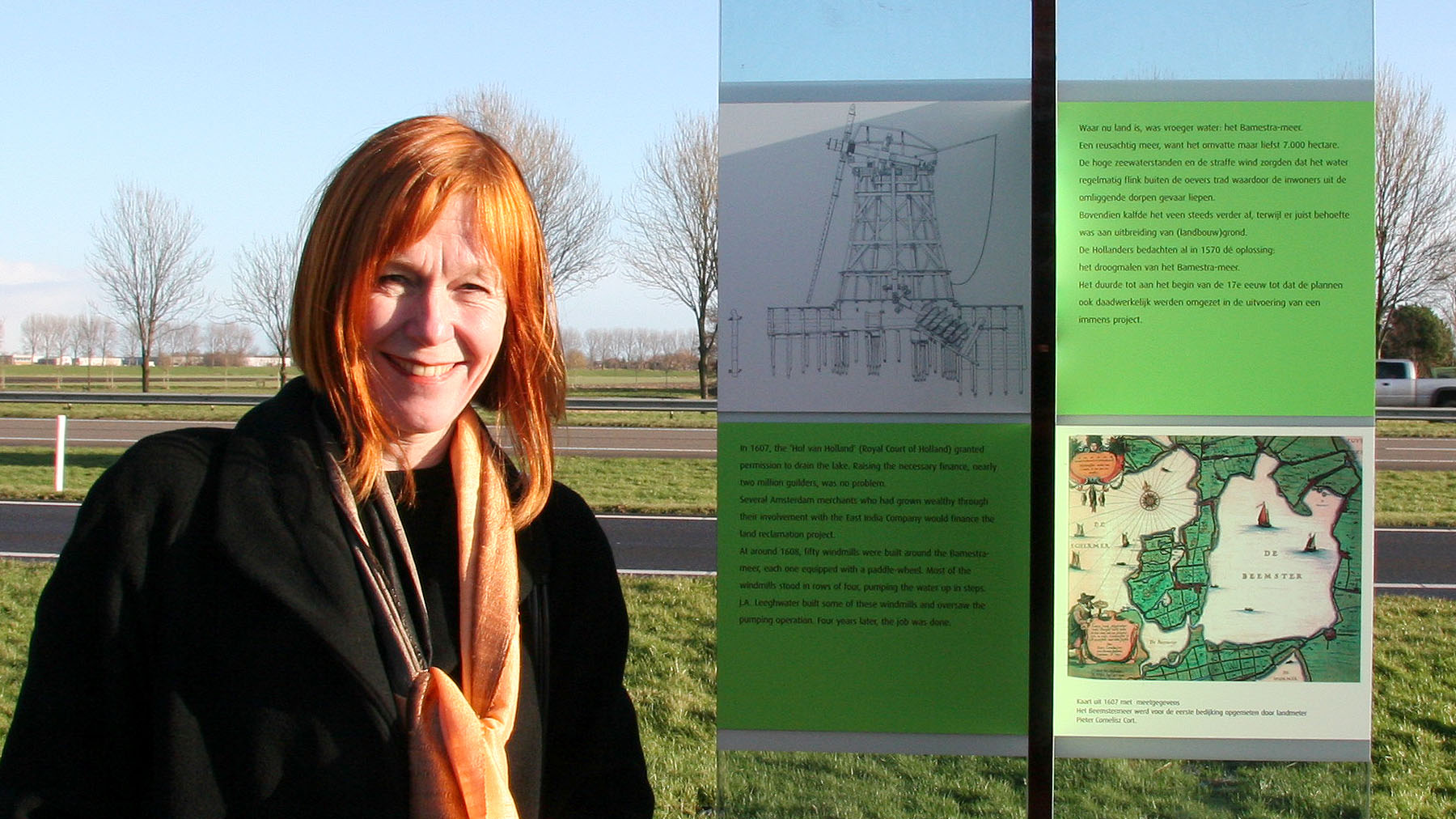 informatie zuil A7 Beemster polder