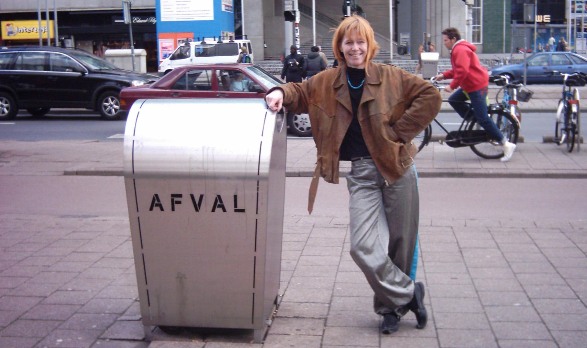 afvalbak Rotterdam Marja Haring