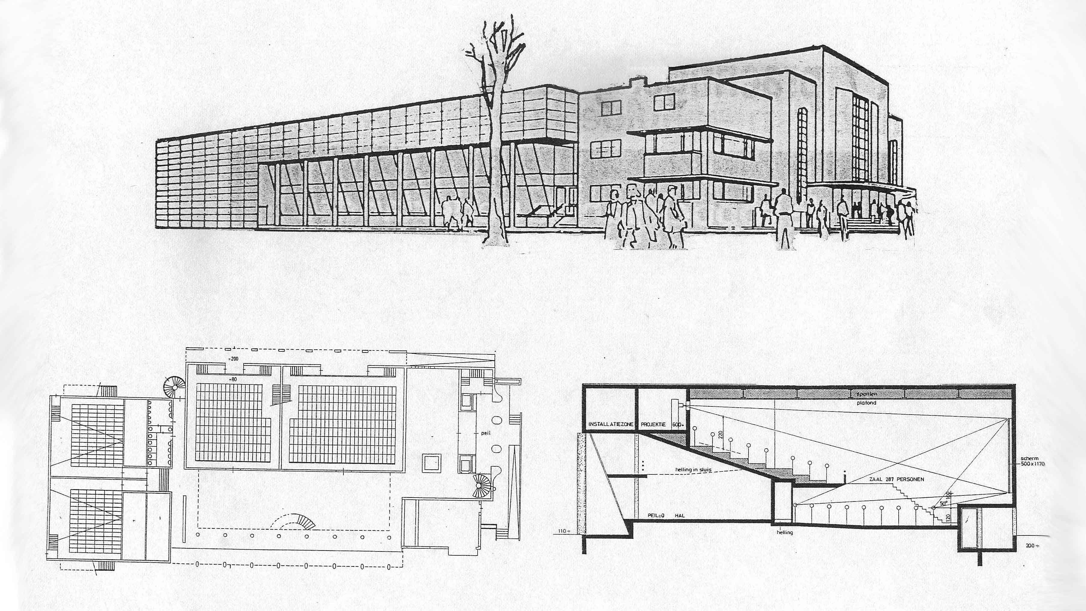 bioscoop grand theatre amersfoort architect marja haring