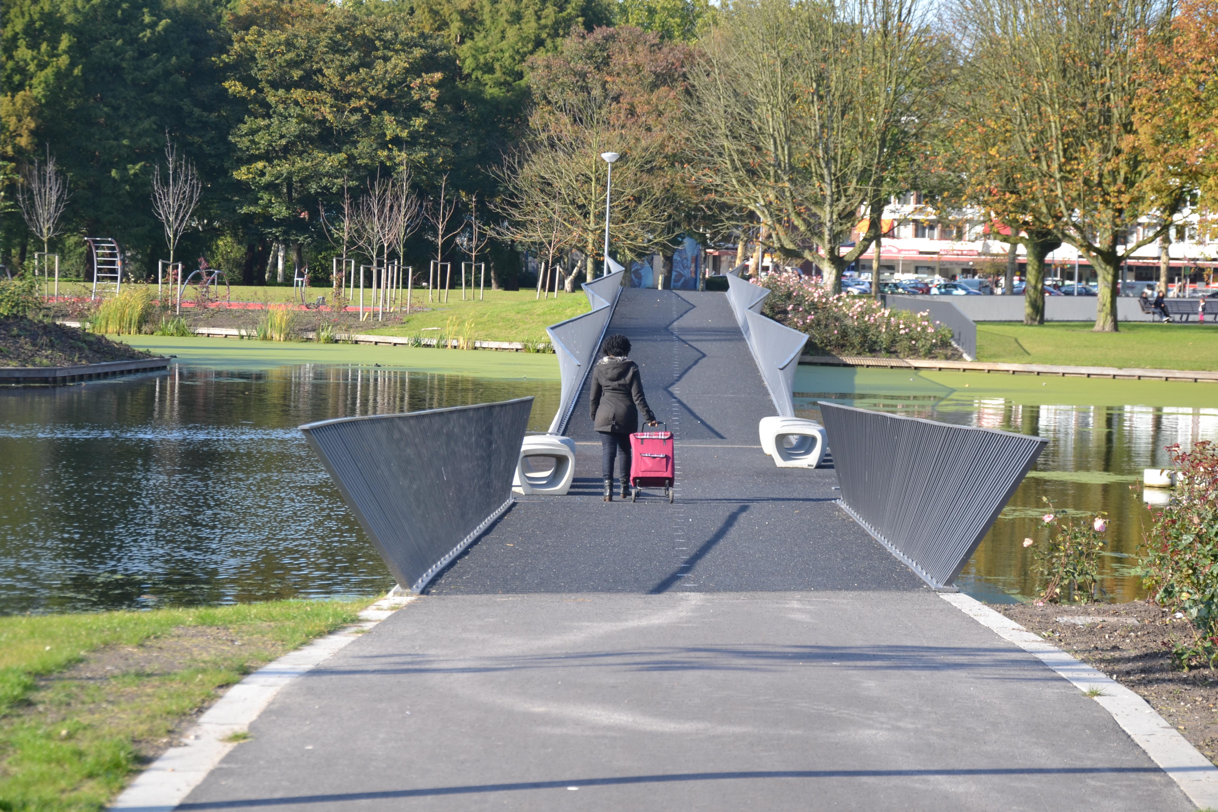 spinozapark Rotterdam bruggen architect Marja Haring