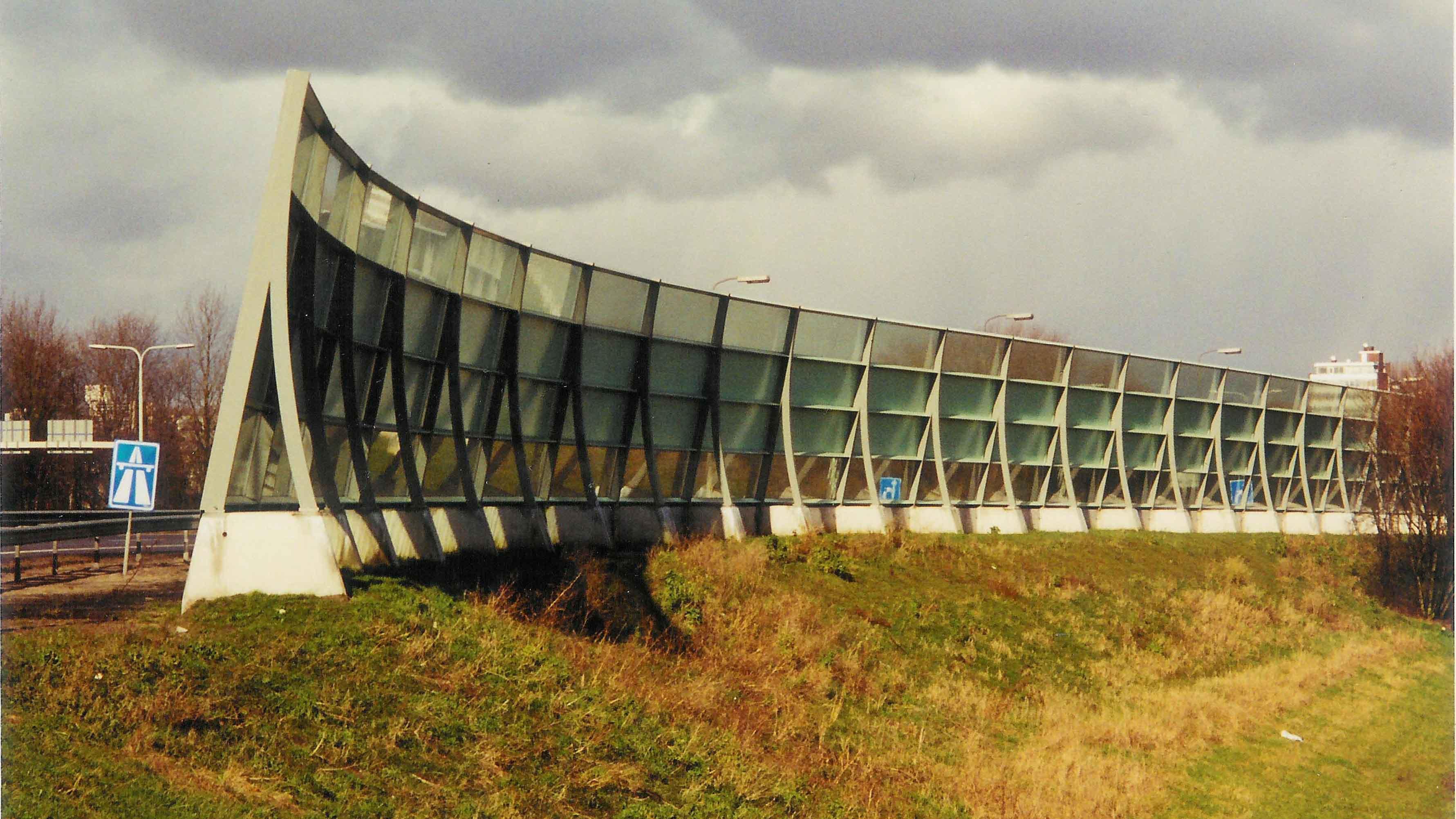 geluidsscherm A13 delft pijnacker architect marja haring