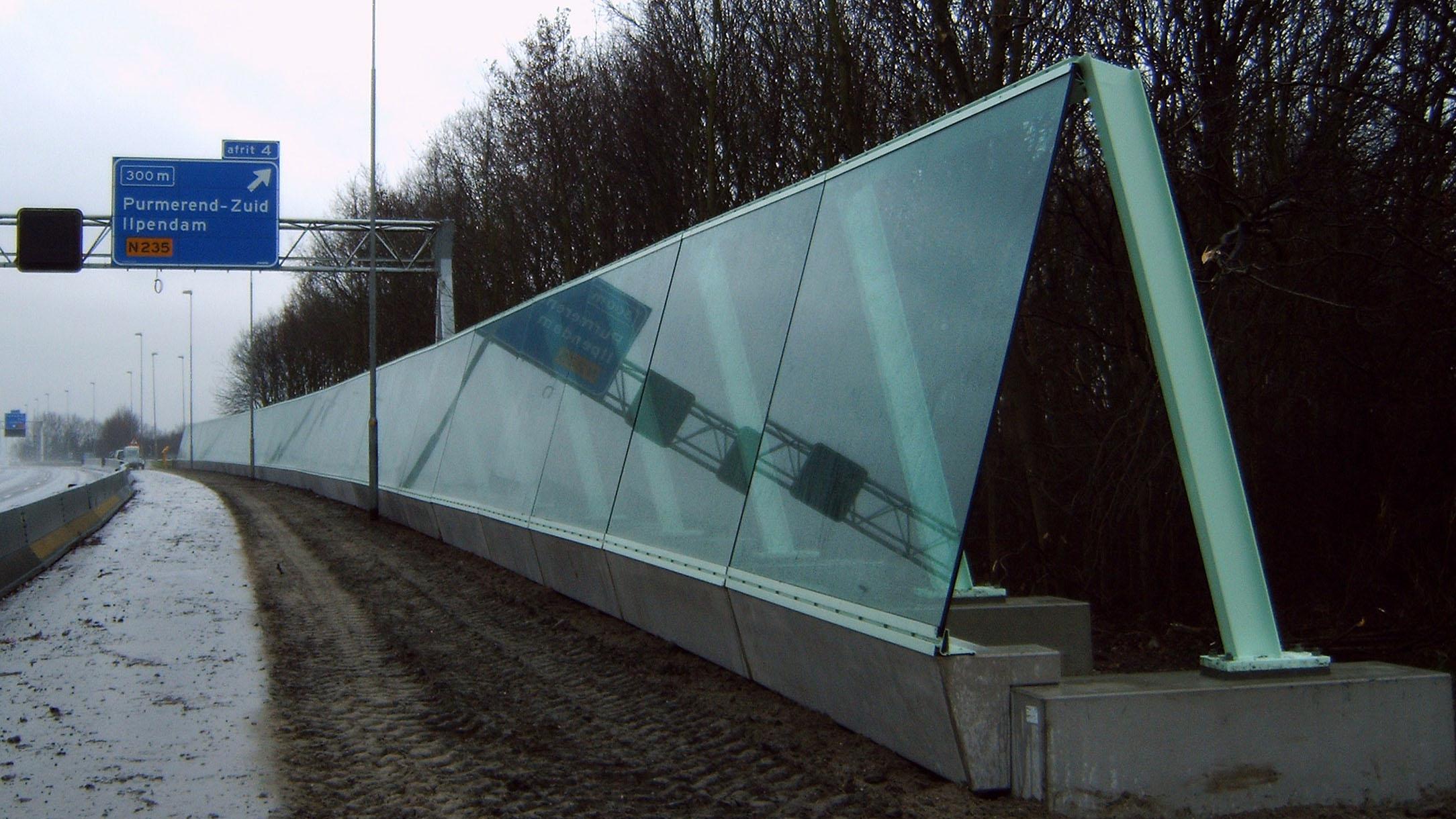 a7 geluidsscherm architect Marja Haring