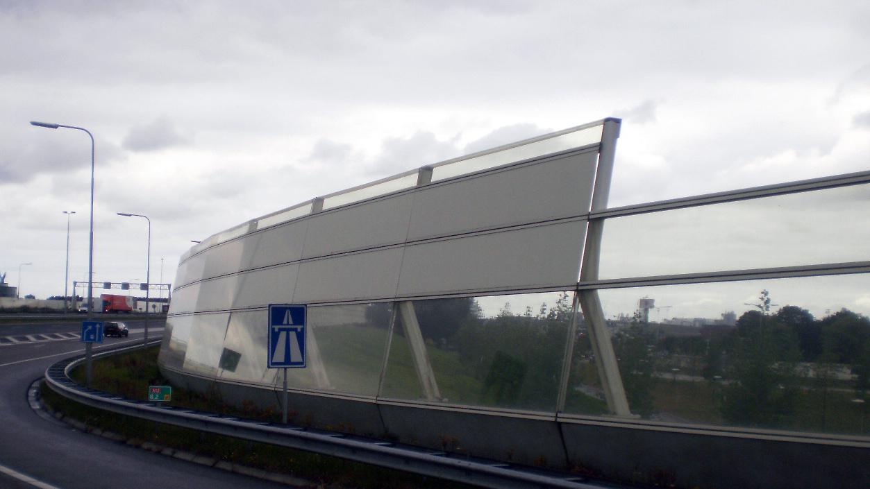 a12 geluidsscherm Leidschenveen