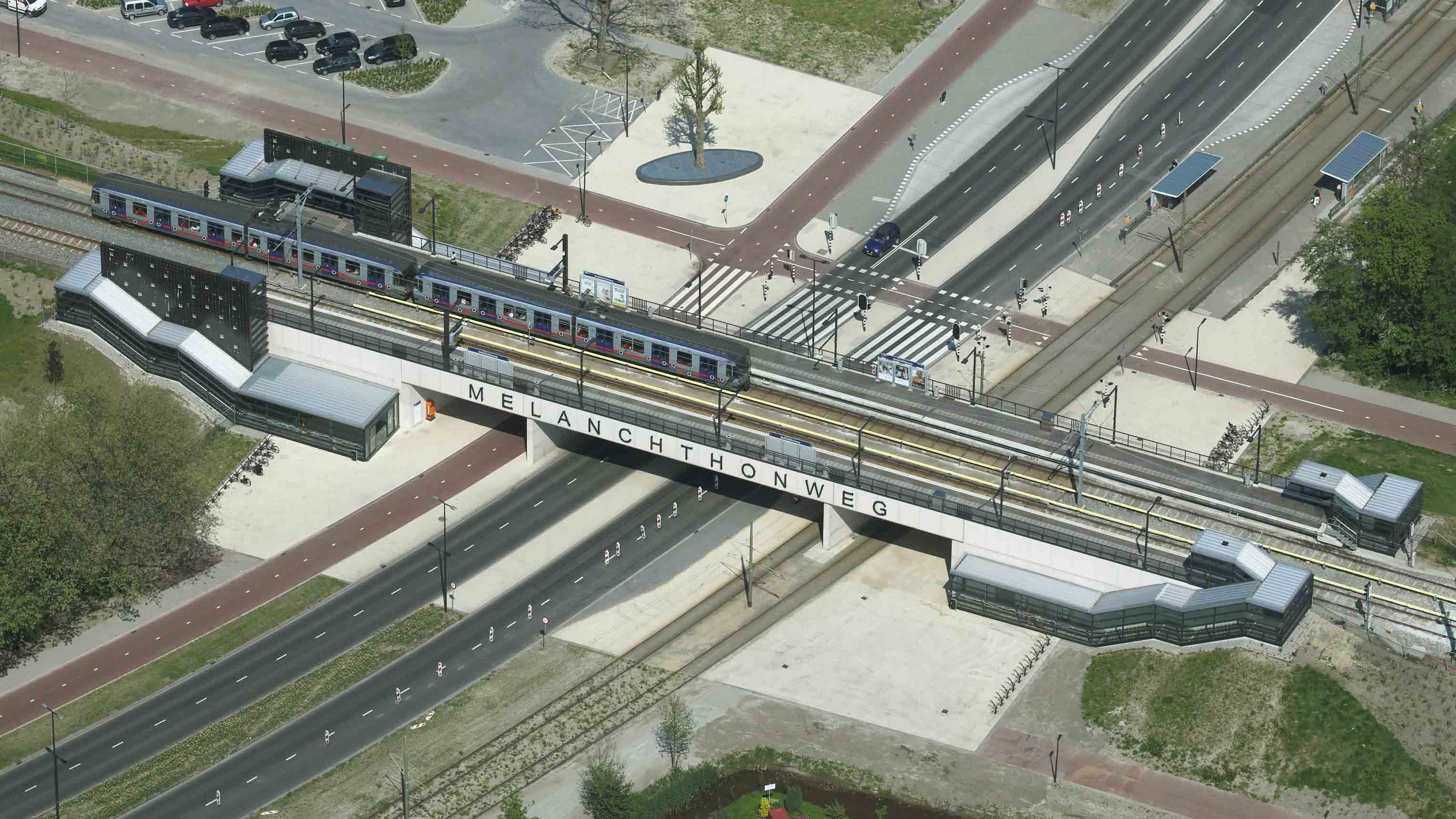 station melanghtonweg architect marja haring