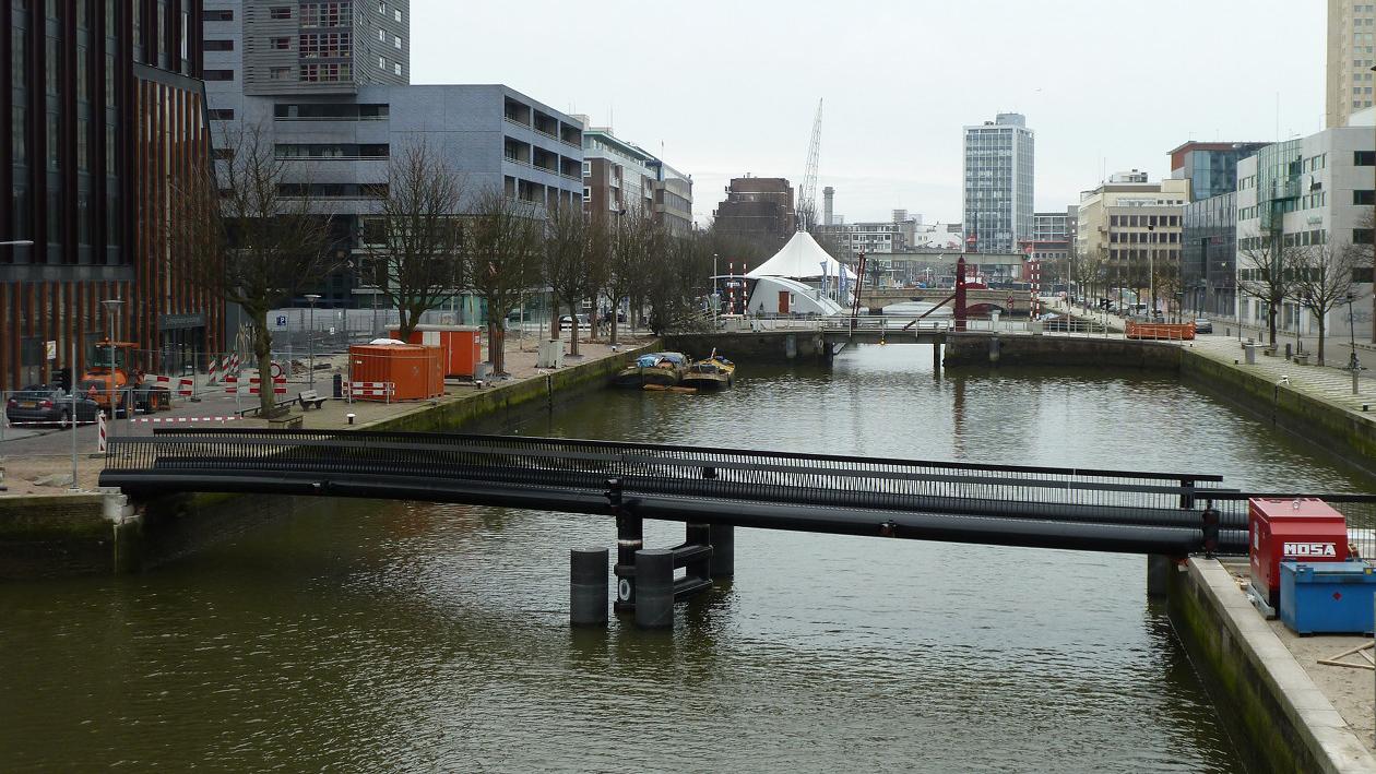 puntbrug rotterdam architect Marja haring