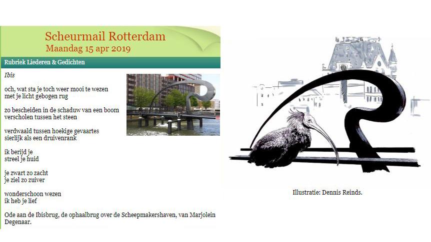 ibisbrug scheurmail ode