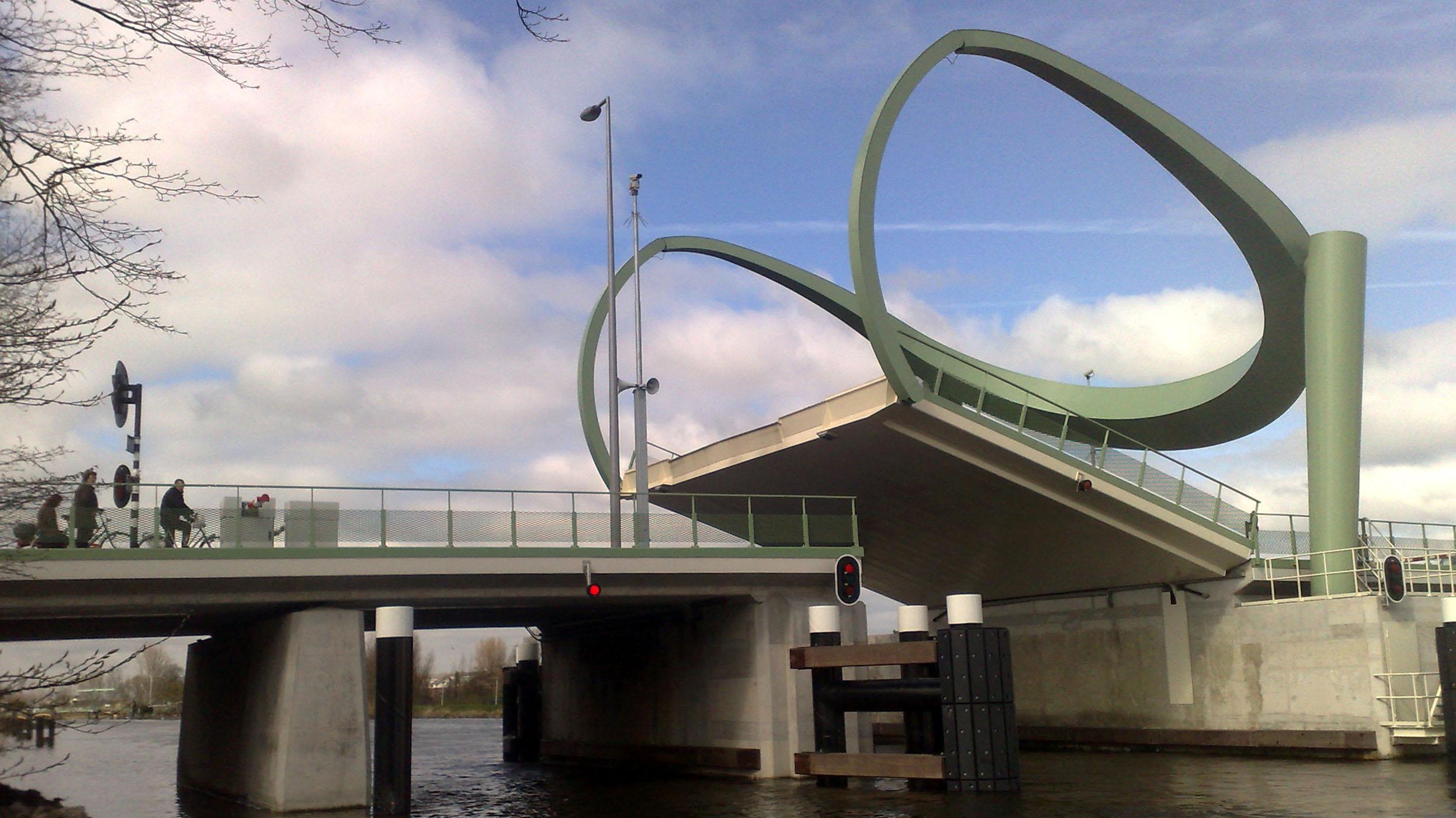 spaanse brug Spaanse polder rotterdam architect marja haring
