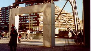 straatmeubilair steunpunt kraan Entrepotgebouw Rotterdam